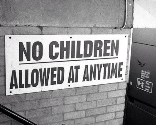 alberghi childfree